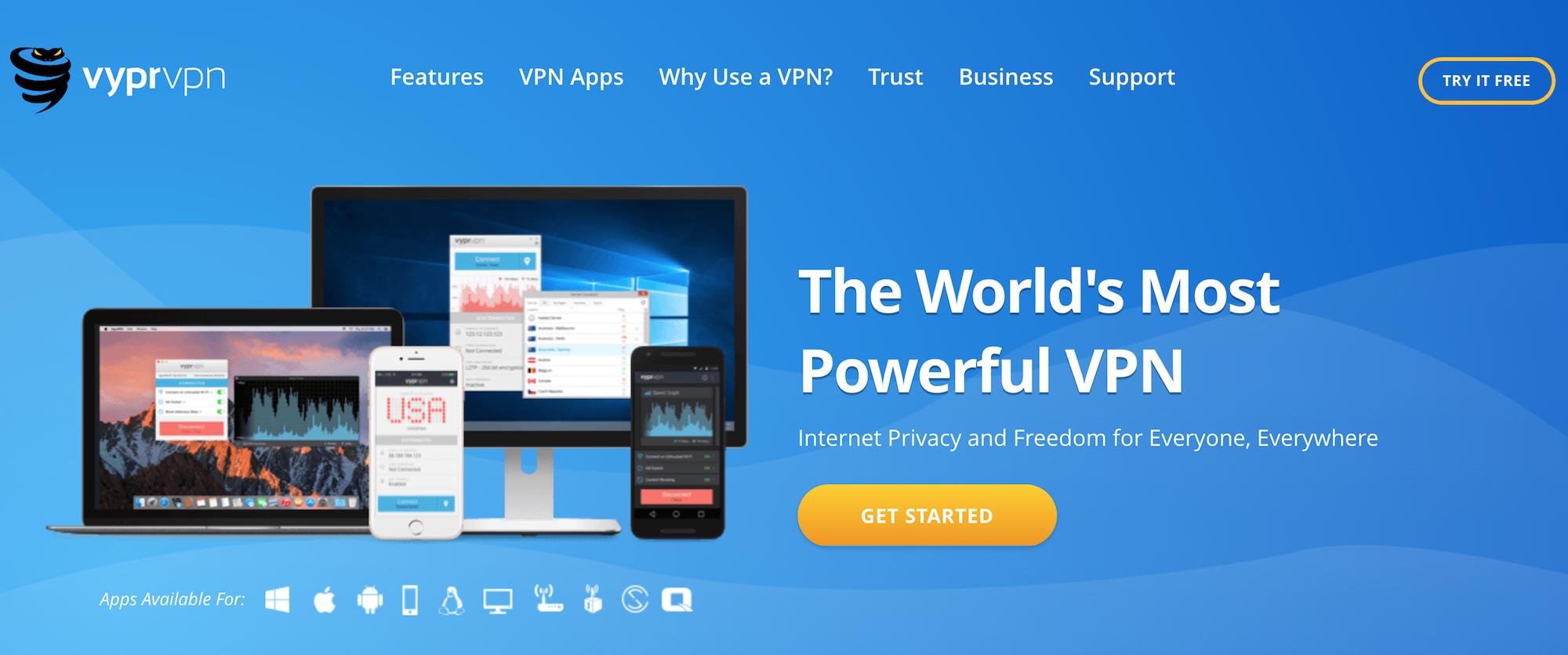 Vypr VPN Review 2018