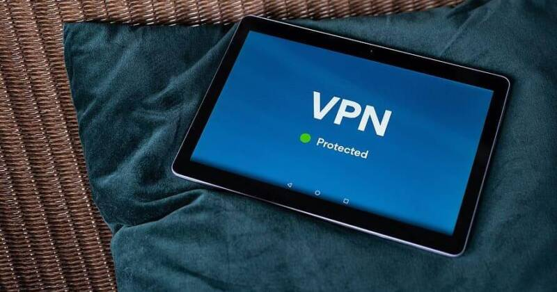iOS Tablet iPad protected with VPN