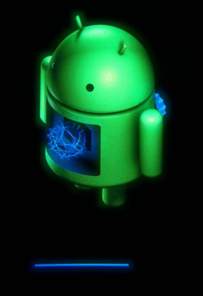 Updating android OS screen picture