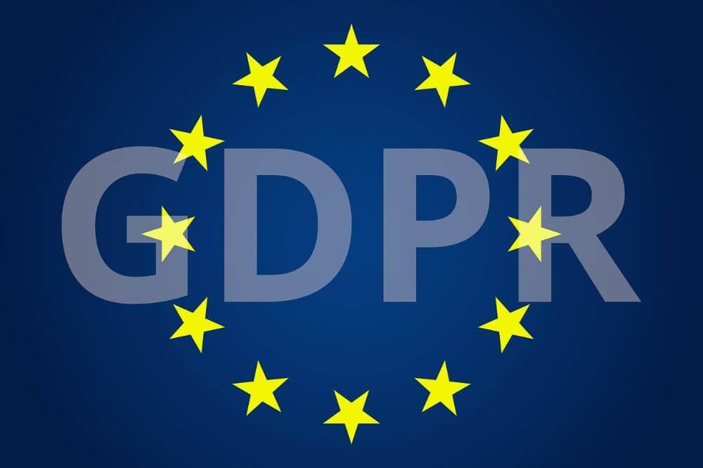 GDPR privacy policy EU settings logo