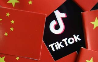 Tiktok can be blocked in the US because of laws in China, graphic