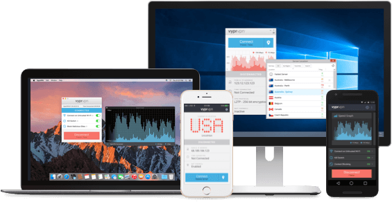 VyprVPN for business supported devices