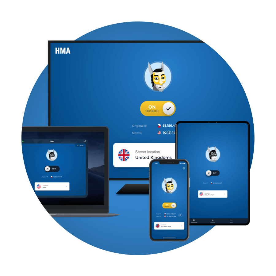 Hidemyass VPN supported devices